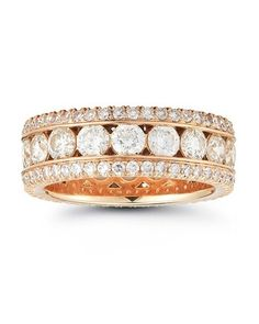 """Marisa Perry Rose Gold """"Bobby"""" Band, price upon request; marisaperry.com."""