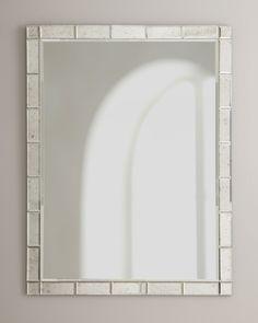 Bordered Mirror; Horchow; 31x41; $485