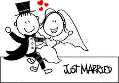 invitaciones de boda de caricatura - Buscar con Google