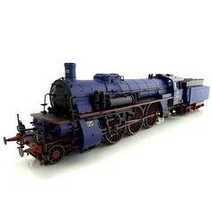 """Märklin H0 - 39021 - Steam loc Series IVh, Badische Staatseisenbahnen, type 2""""C1""""h4v"""