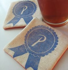 """PBR"" coasters for Fastsoft Press"