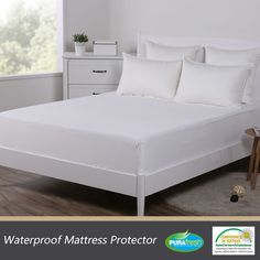 $2.95!!Washable Waterproof Mattress Protector Pad Bed Topper Cover Hypoallergenic Queen