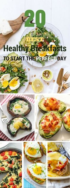 Check out the best 20 healthy breakfasts to start the perfect day! @recipes_to_go