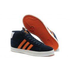 695b2532804 ... coupon køligt adidas vlneo hoops mid shoes mørkblå orange hvid herre  skobutik købe adidas vlneo hoops