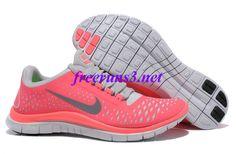 check out c0d72 4e088 Cw62G7 Nike Free 3.0 V4 Neon Pink Silver Women s Running Shoes Nike Running  Shoes Women,