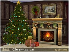 Sims 4 CC's - The Best: Christmas Set by Severinka