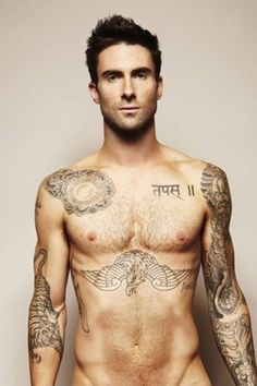 How did Adam Levine get on my board...oops don't care.