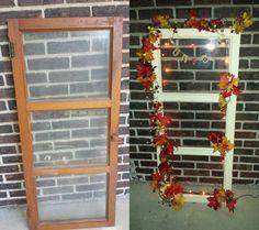 Old window decotation