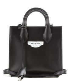 Padlock Nude Mini All Afternoon leather tote. We simply love these.