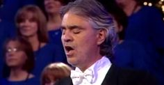 The Lords Prayer -  The mormon tabarnacle choir  with Andrea Boccelli