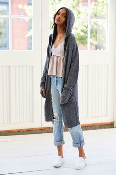Glamorous Classic Hooded Cardigan - Urban Outfitters, How would you style this? http://keep.com/glamorous-classic-hooded-cardigan-urban-out-by-darbygriff/k/1sPghigBMZ/