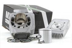Cylindre Culasse MAXISCOOT MXS Racing 70cc MBK Booster / Stunt axe de 12mm