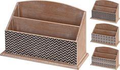 Bureau organizer hout 27x10x17cm - Dagros-Brunsting Groothandel