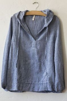 nut hatch linen hoodie-my style, not my price Mode Style, Style Me, Shirts & Tops, Mode Outfits, Dress To Impress, What To Wear, Womens Fashion, Cotton, Clothes