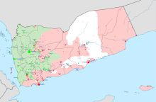 YEMEN: Islamic State of Iraq and the Levant     Gray: Under military control of ISIL Wikipedia
