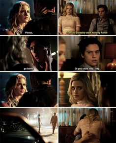 I cried so much in the episode on the left and screamed so much on the one on the right lmaooo Riverdale Quotes, Bughead Riverdale, Riverdale Funny, Betty Cooper Riverdale, Archie Comics Riverdale, Riverdale Betty And Jughead, Netflix, Betty & Veronica, Lili Reinhart And Cole Sprouse