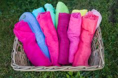 Crafty Corner: How to Dye Cheesecloth for Newborn Wraps » Amanda Jackson Photography