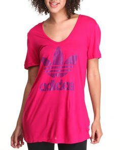 Buy Trefoil Outline Tee Women's Tops from Adidas. Find Adidas fashions & more at DrJays.com