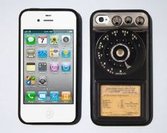 Vintage Payphone iPhone case cover