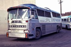 Justin. I once took a Greyhound from NY to SF. Just had to GTFO. It was a great journey, and I met a ton of amazing people along the way and saw a lot of the country. I didn't take any busses like this, but I love the classic bus design.