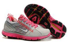 Womens Nike Lunarglide 2 Gray Pink Shoes