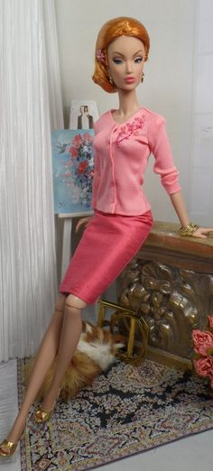 Sweater Sensation for Silkstone Barbie and Victoire Roux OOAK Doll Fashion