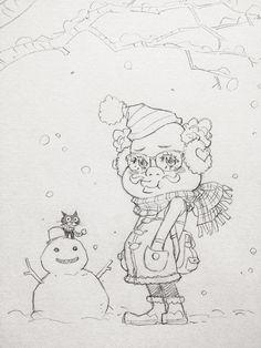 ゆるふわオヤジの冬コーデ。