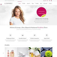 Lounge Clean Elegant WordPress Theme | Best WordPress Themes Download 2013