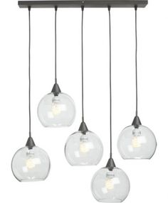 Love The Light Overstock 171 Uptown 3 Light Clear Globe Cluster