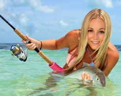 Are these the best fishing girls on the web? That's the aim, so if you have found a sexier angler, send it in and we'll happily add her to our hall of fame!