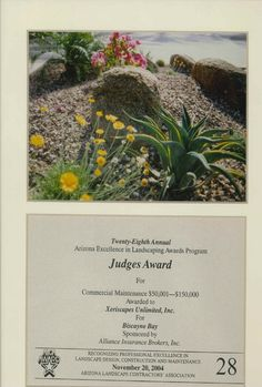 Judge's Award for Commercial Maintenance, 2004