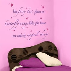 Like Fairy Dust - Quote - Wall Decals Stickers Graphics