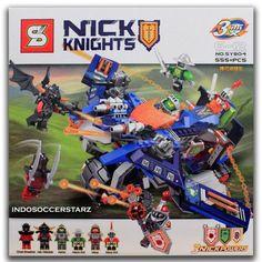 LEGO SY 804 Nexo Knights 3 in 1 Thunder Mace Aero-Striker V2
