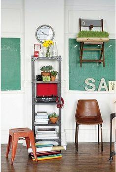 vintage school look