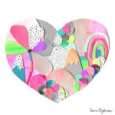 Laura Blythman — Limited Edition Print // CANDY LAND