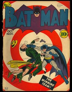 Batman 7 Original Covers Only Golden Age DC Superhero Comic 1941 | eBay