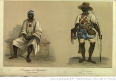 Images of 19th century West Africans from Illustrations of a Voyage in Western Africa: Understanding the exploration of Senegal in 1843 and 1844 by  Anne Raffenel