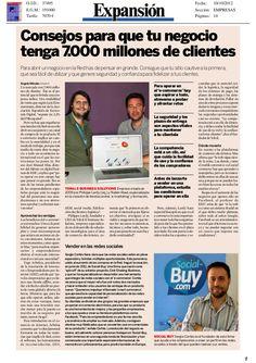 Sergio Cortés hablando de vender en redes sociales by Social-Buy.com via Slideshare