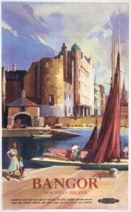 Travel Poster, Bangor, Northern Ireland