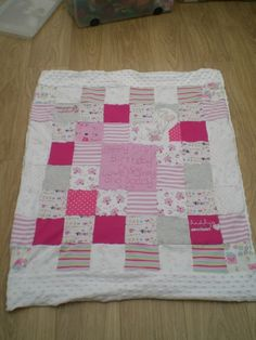 Baby Keepsake Blanket - The Supermums Craft Fair