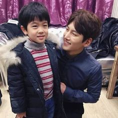 2016.03.04 Ji Chang Wook picture update with child ❤ Cute #jichangwook #지창욱