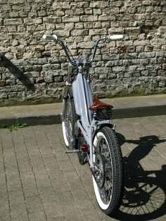 Mcfly Custom — ahotermanslife: my mini chopper mbk 51