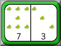 Here's a fun set of dinosaur dominoes with pieces from 0-0 to 10-10.