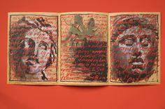 "Jean Charles de Castelbajac Flyer Spring/Summer 1987 Women FLYER ""Du regard des statues"" Drawing by Anne and Patrick Poirier"