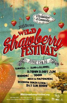 Wild Strawberry Festival at Burien Town Square Park - June 15-16, 2013