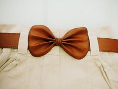zara leather bow belt