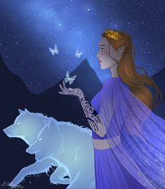 Feyre and her water wolves