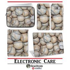 Softballs / Baseballs Phone Cases, Sleeves & Skins at #Redbubble by #Gravityx9 Designs ~ #ElectronicCare #Sports4you #softball #baseballs #baseball ~