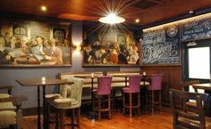 The Inn at Dromoland has comfort in pockets of spaces that differ in style and scale designed by the Irish Pub Company
