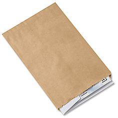 6 1/4 x 9 1/4 Kraft Merchandise Bags $24.00 (for 1,000)